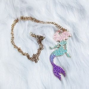 Hot Topic Mermaid Pastel Necklace